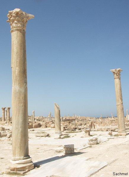 Sabrata_Der Tempel der Unbekannten Gottheit