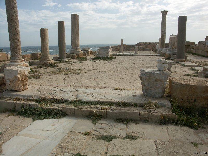 Sabrata_Basilika des Kaisers Justinian