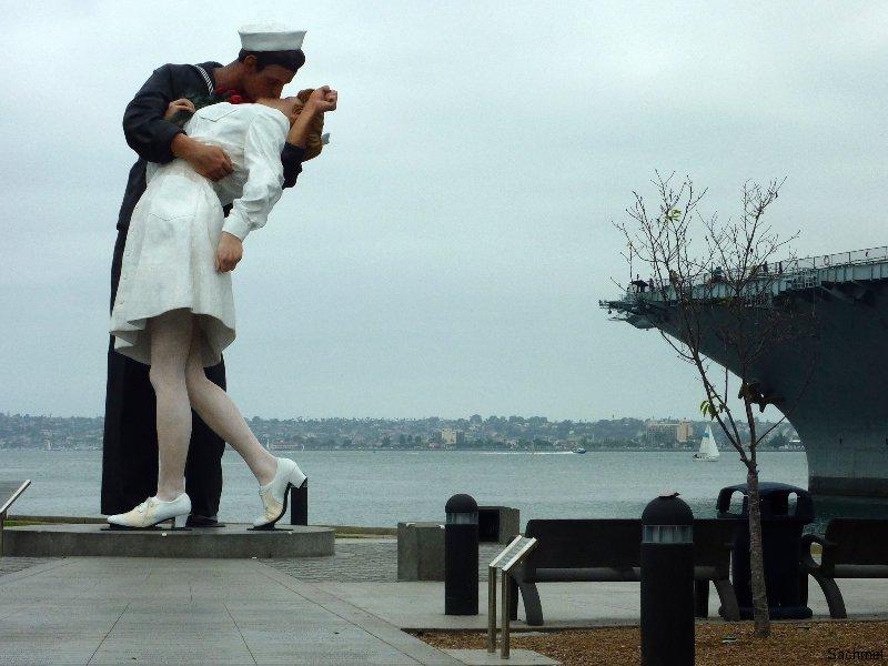 San Diego_Kunst am Hafen