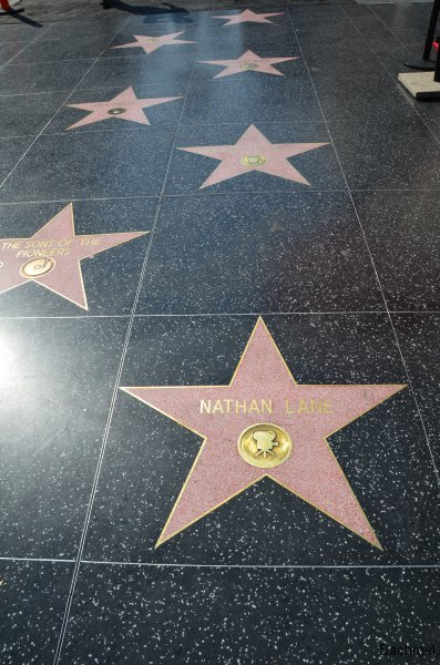 Hollywood - Walk fo Fame