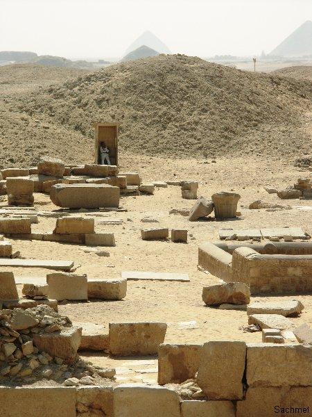 Saqqara_Blick auf Meidum