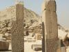 Saqqara_Aufweg der Unas-Pyramide