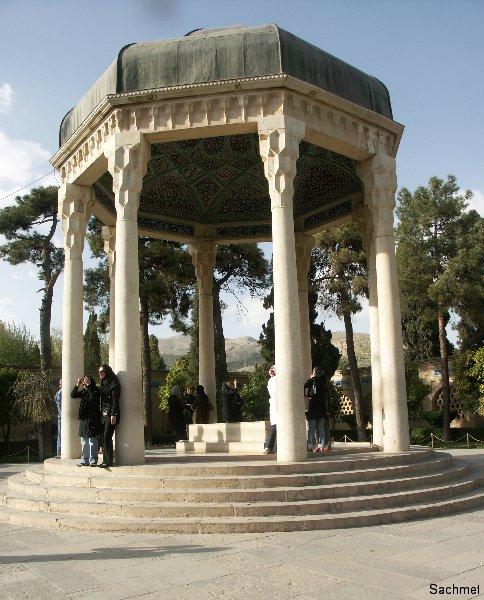 Schiraz - Mausoleum des Dichters Hafiz