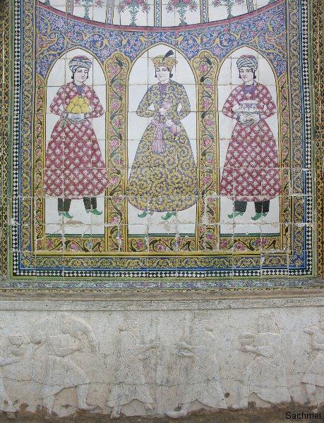 Schiraz - Bagh-e Narendjestan (Detail)