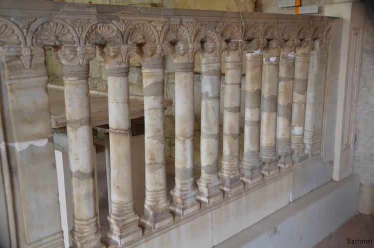 Split - Archäologisches Museum - Schrankenanlage