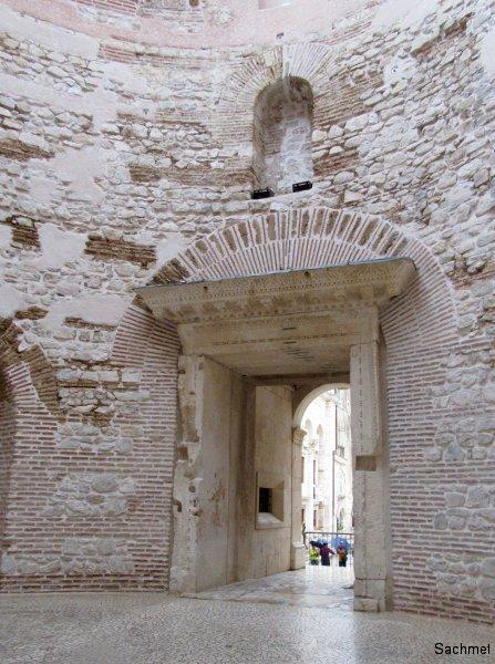Split - Palast des Diokletian - Vestibül
