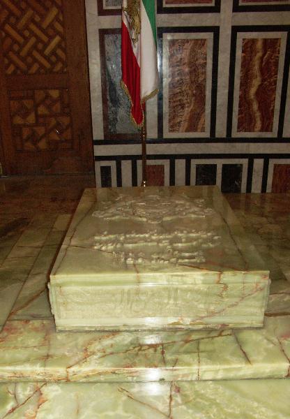 Kairo: Rifai-Moschee_Die Grabstätte von Reza Pahlavi