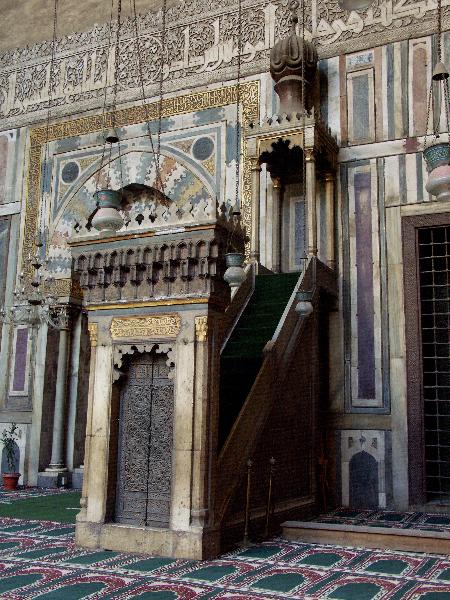 Kairo: Sultan Hassan-Moschee