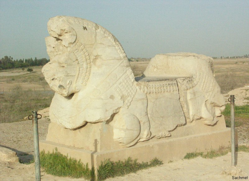 Susa - Apadana (Palast des Darius)