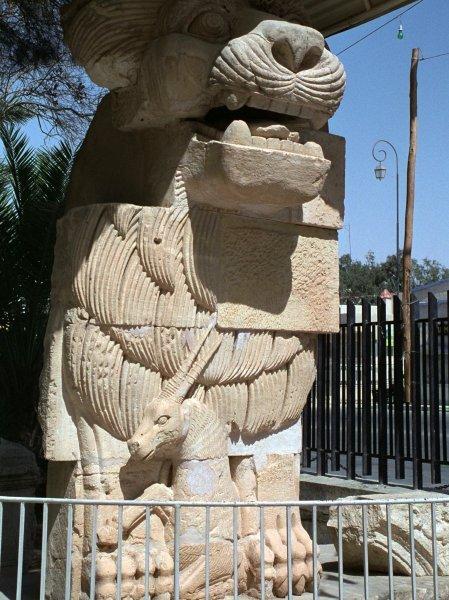 Palmyta - Löwenskulptur der Göttin Allat