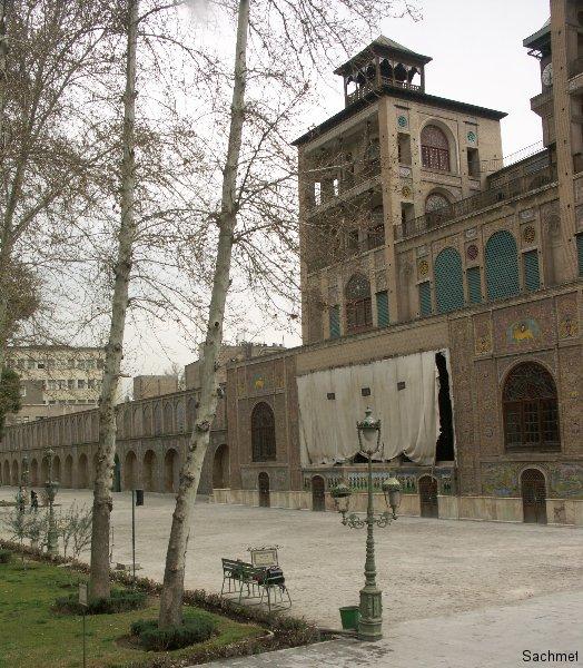 Teheran - Golestan-Palast - Shams  el-Emareh