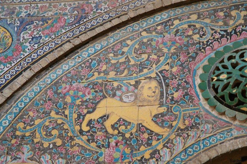 Teheran - Golestan-Palast - Fliesenmosaik