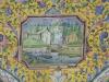 Teheran - Golestan-Palast - Empfangspalast - Fliesenmosaik