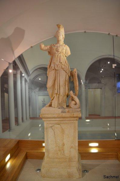 Varaždinske Toplice_ - Aquae Iasae - Minerva-Statue (Museum)