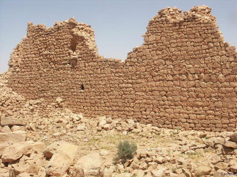Wadi Ghirza_Nordnekropole_Befestigter Wohnbau