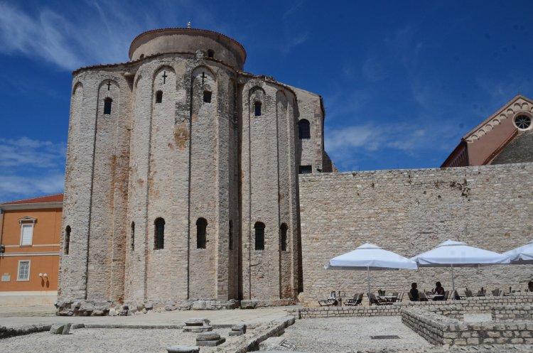 2016_Kroatien_Zadar_Kirche Sveti Donat