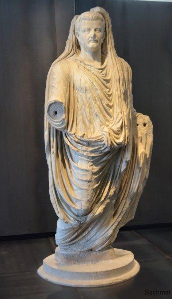Zadar - Archäologisches Museum - Tiberius-Statue aus Nin