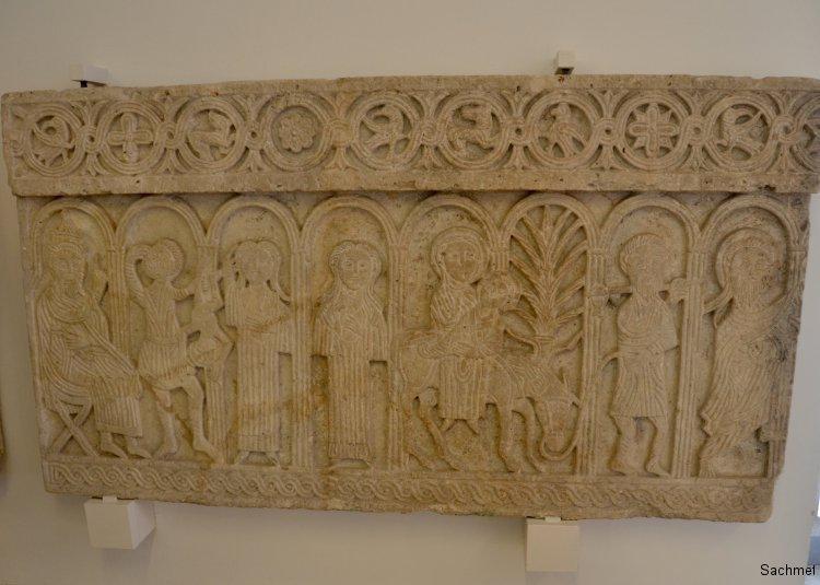 2016_Kroatien_Zadar_Archäologisches Museum_Altarschranke_St. Domenica