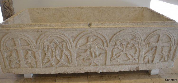 Zadar - Archäologisches Museum - Sarkophag